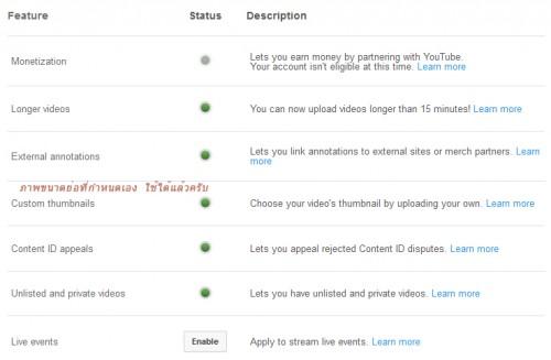 วิธีกำหนดภาพขนาดย่อเอง ใน Youtube